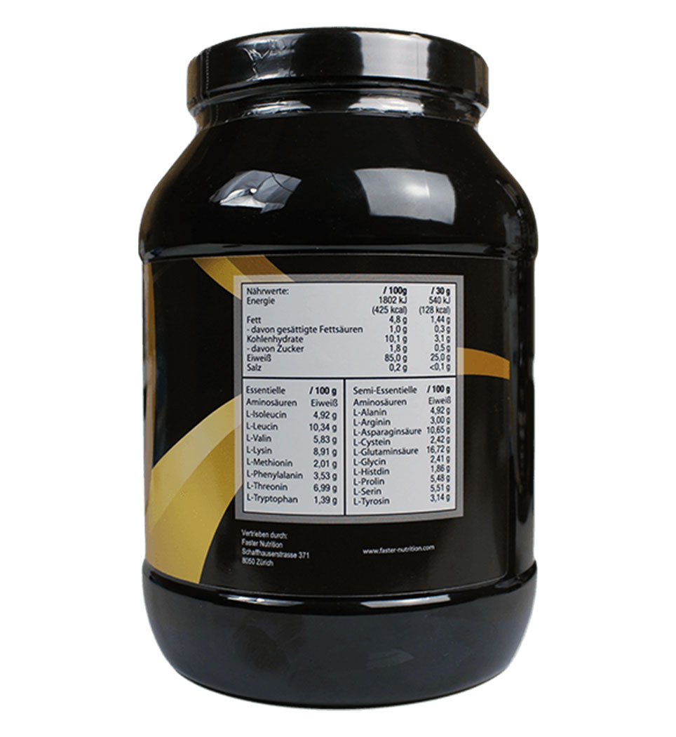 Faster Nutrition Iso Whey Protein